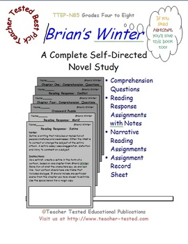 Brian's Winter: A Complete Novel Study
