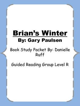 Brian's Winter Book Study Packet