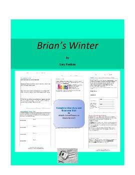 Brian's Winter (Hatchet) Complete Literature and Grammar Unit