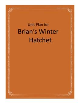 Brian's Winter Novel Unit Plus Grammar