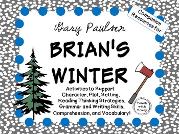 Brian's Winter by Gary Paulsen: A Complete Novel Study!