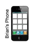 Brian's Winter (by Gary Paulson) Smart Phone