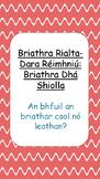 Briathra Dhá Shiolla