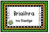 Briathra na Gaeilge _ Task Cards _BUNDLE