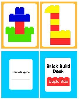 Duplo Pattern cards