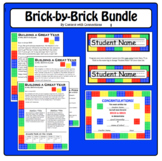 Brick Bundle: Newsletters Desk Tags & End of Year Certific