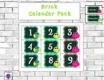 Brick Calendar Pack