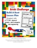 Brick Challenge: Build A Boat- STEM Lesson Plan