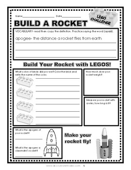 Brick Challenge: Build a Rocket Lesson Plan