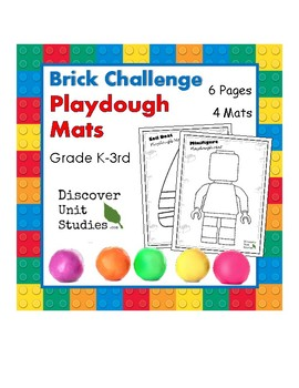 Brick Challenge: Playdough Mats