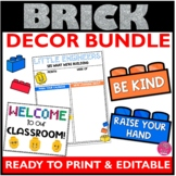 Brick Classroom Decor Bundle