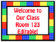 Brick (Lego) Editable Desk Tags & Signs for Back to School