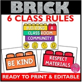 Brick Decor EDITABLE Rules