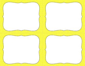 Blank Task Cards - Basics: Brick Path | Editable PowerPoint