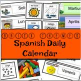 Brick-Themed Spanish Daily Calendar