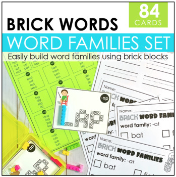 Brick Word Family Task Cards