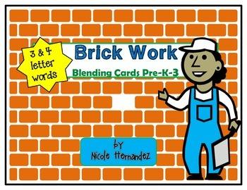 CVC Blending Cards - Brick Works {Set 1}