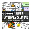 Brick-themed Latin Daily Calendar