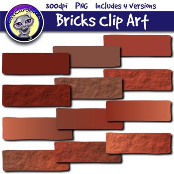 Bricks Clipart Set