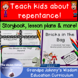 Teach Kids About Repentance - A Christian Book & Lesson Plans