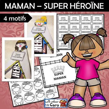 Bricolage SUPER MAMAN - FÊTE DES MÈRES