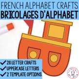 Bricolages d'alphabet (FRENCH Alphabet Crafts for Uppercas