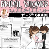 Bridal Shower Activities for Students