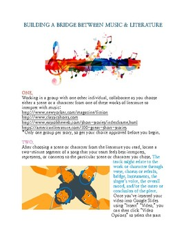 Bridge Between Literature & Music Project