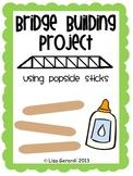 Bridge Building Project Using Popsicle Sticks