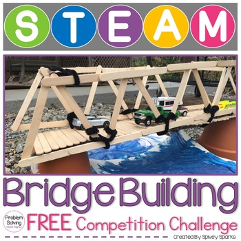 Bridge Building STEM Challenge FREE
