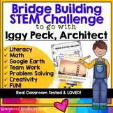 Bridge Building STEM Challenge to go with Iggy Peck Architect