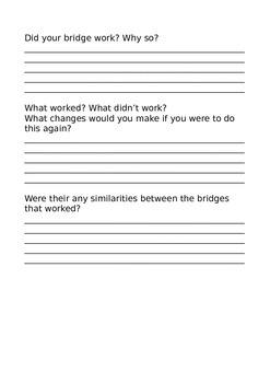Bridge Building Task MATHS AND D&T