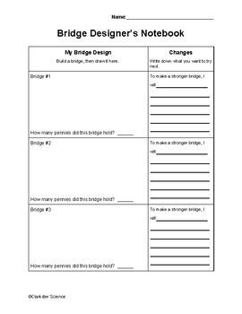 Bridge Design Notebook
