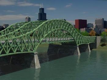 Bridge Design and 3D Visualization