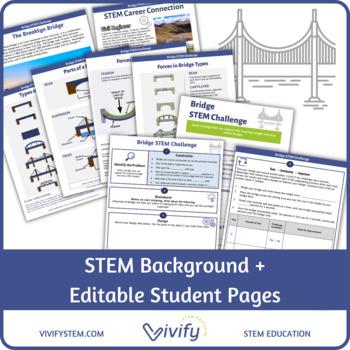 Bridge Engineering STEM Challenge - Women in STEM History Activity