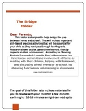 Bridge Folder Sheet