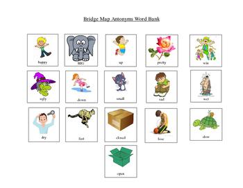 Bridge Map / Analogy / Opposites