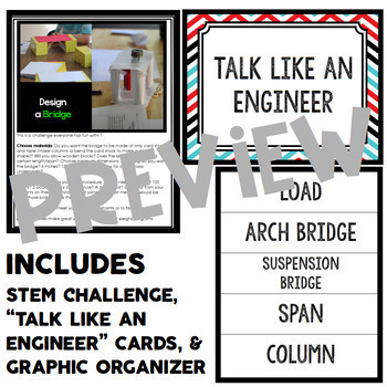 Bridge STEM Challenge - Quick STEM Activity