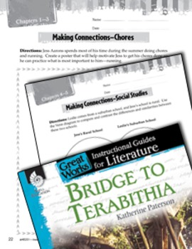 Bridge To Terabithia Making Cross-Curricular Connections