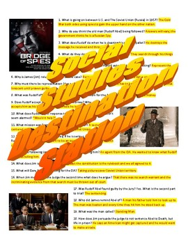 Bridge of Spies Movie Guide & Key