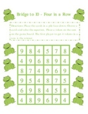 Bridge to 10 Subtraction - Four in a Row