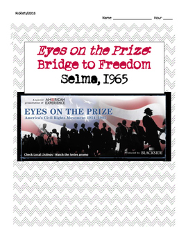Bridge to Freedom Eyes on the Prize Video Guide - Voting Rights March Selma