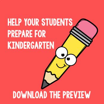 Summer Packet | Preschool Bridging to Kindergarten