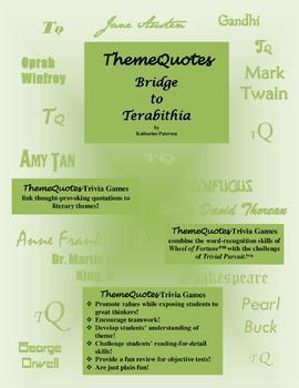 Bridge to Terabithia: 132 Trivia Questions—Fun for the Whole Class!