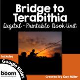 Bridge to Terabithia Novel Study: Digital + Printable Unit [Katherine Paterson]