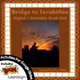 Bridge to Terabithia Novel Study: Digital + Printable Unit