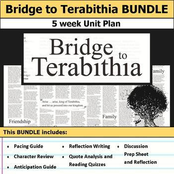 Bridge to Terabithia Unit Bundle
