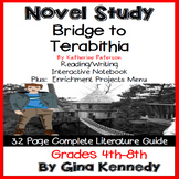 Bridge to Terabithia Novel Study & Project Menu
