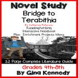 Bridge to Terabithia Novel Study & Project Menu; Plus Digital Option