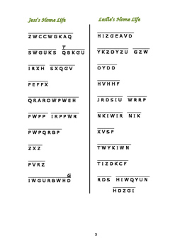 Bridge to Terabithia: 6 Cryptocategory Word Puzzles—Unique!